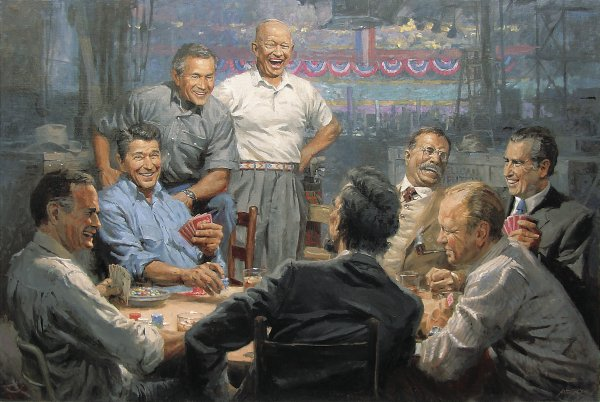 Grand Ol' Gang by Andy Thomas, Republican Presidents