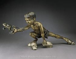 Mark Hopkins Bronze Sculpture Steamboat Springs co