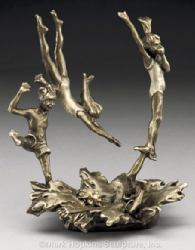 Last One In Mark Hopkins Bronze Sculpture Colorado