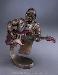 Jazz Guitar Mark Hopkins Limited Edition Sculpture