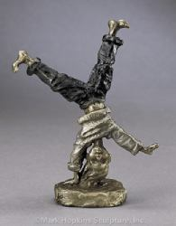 Cartwheeling (Small) by Mark Hopkins