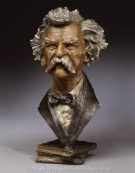 Mark Twain by Mark Hopkins