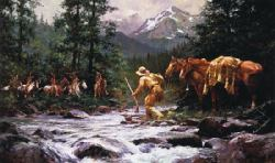 They Came From Nowhere by Howard Terpning