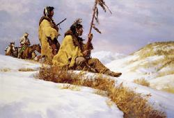 Signals In The Wind by Howard Terpning