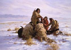 The Last Buffalo by Howard Terpning