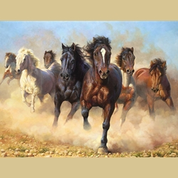 Thunder And Dust by Bonnie Marris