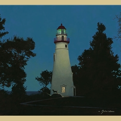 The Lighthouse Keeper by John Weiss