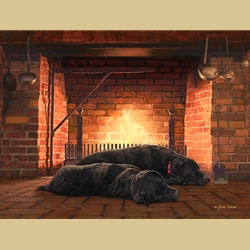 Fireside Friends by John Weiss