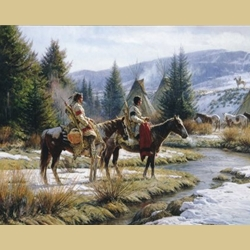 Morning Vigil by Martin Grelle
