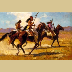 Light Cavalry by Howard Terpning