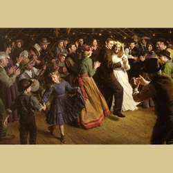 The First Dance 1884 Americana By Morgan Weistling