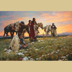 Journey to the Medicine Wheel by Howard Terpning