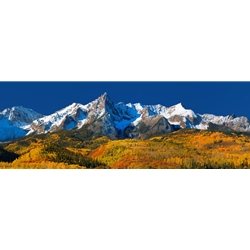 San Juan Majesty PanoramaSan Juan Majesty, Colorado Landscape, Steamboat Springs, Photography, Art Gallery Steamboat, Aspen Trees, Giclee Print, Gallery Wrap, Barry Bailey, Mountain Traditions, Gallery, Art, Downtown Steamboat, Durango Colorado