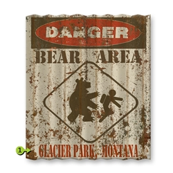 Danger Bear Area