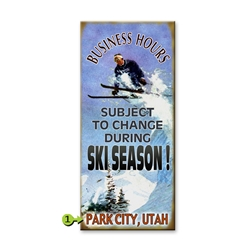 Ski Season- Business Hours