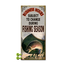 Fishing Season - Business Hours