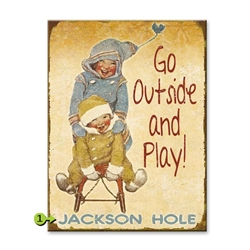 Go Outside and Play!