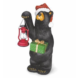 Holiday Bear w/ Lantern