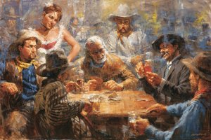 Draw Poker by Andy Thomas