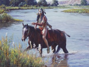 Crossing the Greasy Grass by Martin Grelle