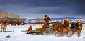 Winter Chores by Nancy Glazier
