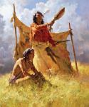 The Weather Dancer Dream by Howard Terpning