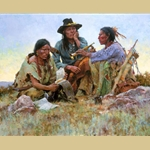 Found on the Field of Battle by Howard Terpning