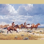 Running with the Elk Dogs by Martin Grelle