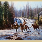 Crows in the Yellowstone by Martin Grelle