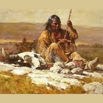 Seeking Wisdom Through the Pipe by Howard Terpning