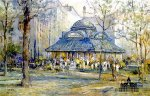 Pavilion of Flowers by L. Gordon