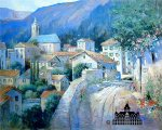 Italian Village by L. Gordon