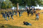 The Death of Reynolds - Gettysburg by Bradley Schmehl
