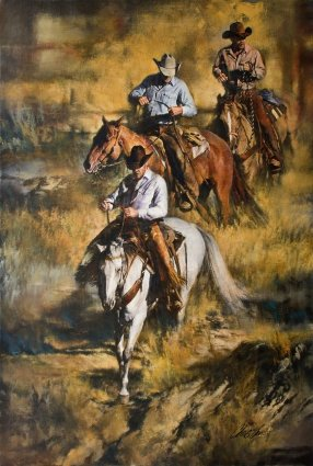 Rough Country by Western Artist Chris Owen