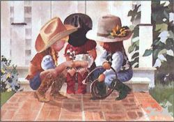 Little Buckle Bunnies by Linda Loeshen