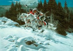 In The Land Of The Winter Hawk by Frank Mccarthy