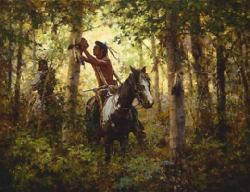 Offerings To The Sun by Howard Terpning