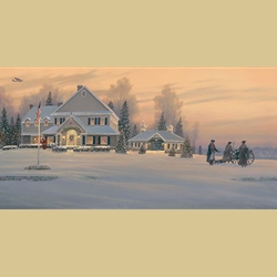 Christmas Traditions at Watchman Hill Inn By William S. Phillips