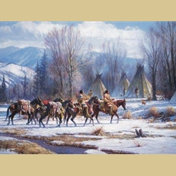 Camp Meat by Mules by Martin Grelle