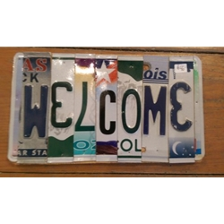 License Plate Artwork, Steamboat Springs, Colorado, Art Gallery Downtown Steamboat, Mountain Traditions, Lost Highway Company
