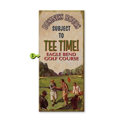 Golf - Business Hours