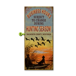 Duck Hunting - Business Hours