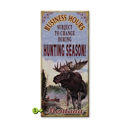 Moose Hunting - Business Hours