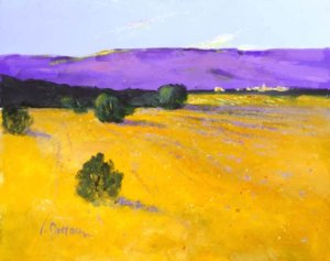 Purple Hills by L. Gordon