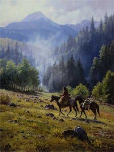 Mists of Morning by Martin Grelle