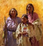 Three Generations by Howard Terpning