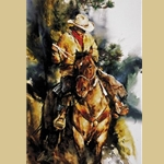 A Cowboy's Morning by Chris Owen