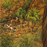 West Ford Pintos by Bev Doolittle