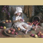 Apple Girl By Morgan Weistling