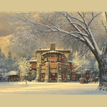 Christmas Eve at the Ahwahnee by William S. Phillips
